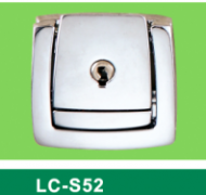 LC-S52 Round hole big square latch,Flight case road case hardware-Professional Furniture Hardware Fit