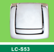 LC-S53 big square latch without a key,Flight case road case hardware-Professional Furniture Hardware