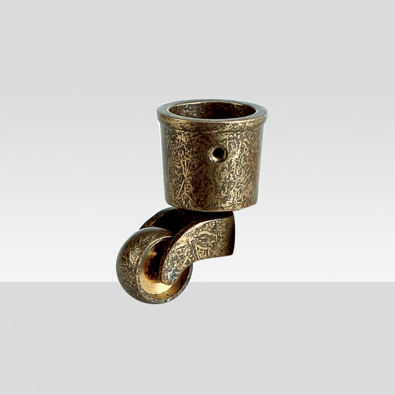 High quality bronze spckle casters for sofa bed 18040102