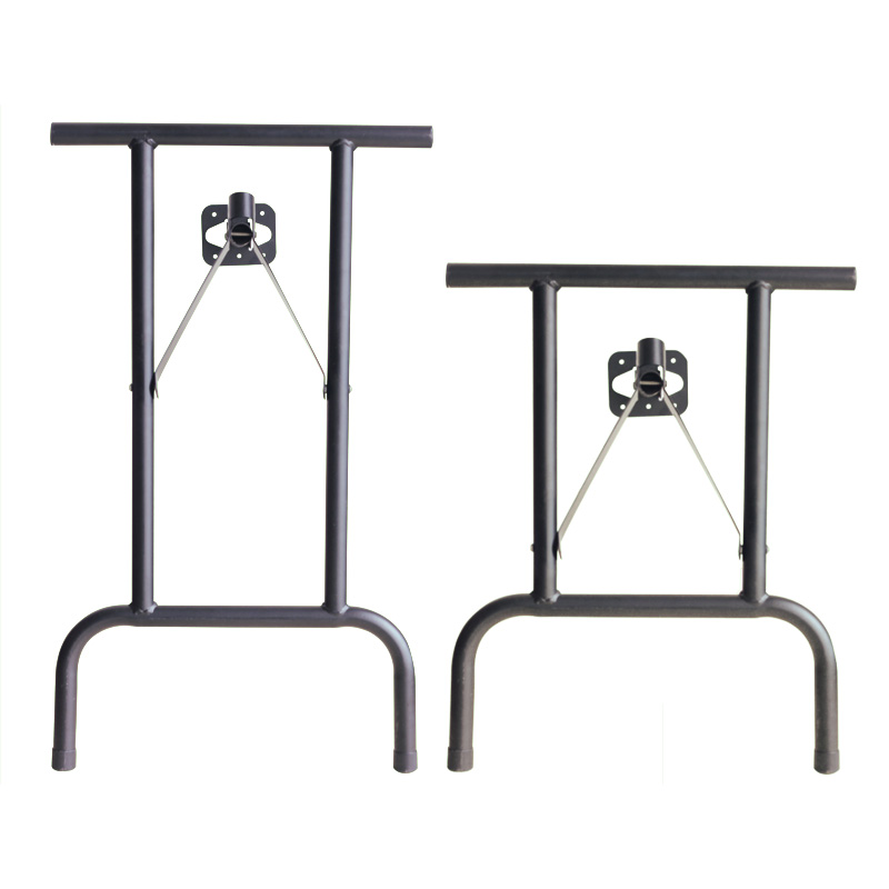 Factory produces music JD box table office desk metal folding side table bracket iron strut LC-CTJ01