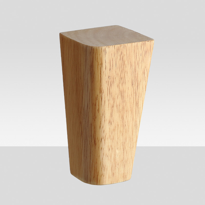 120mm wooden legs stand apart conical feet for furniture 14040334