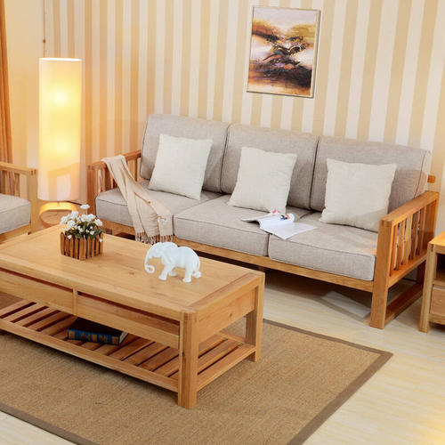 What are the advantages and disadvantages of solid wood sofa legs?