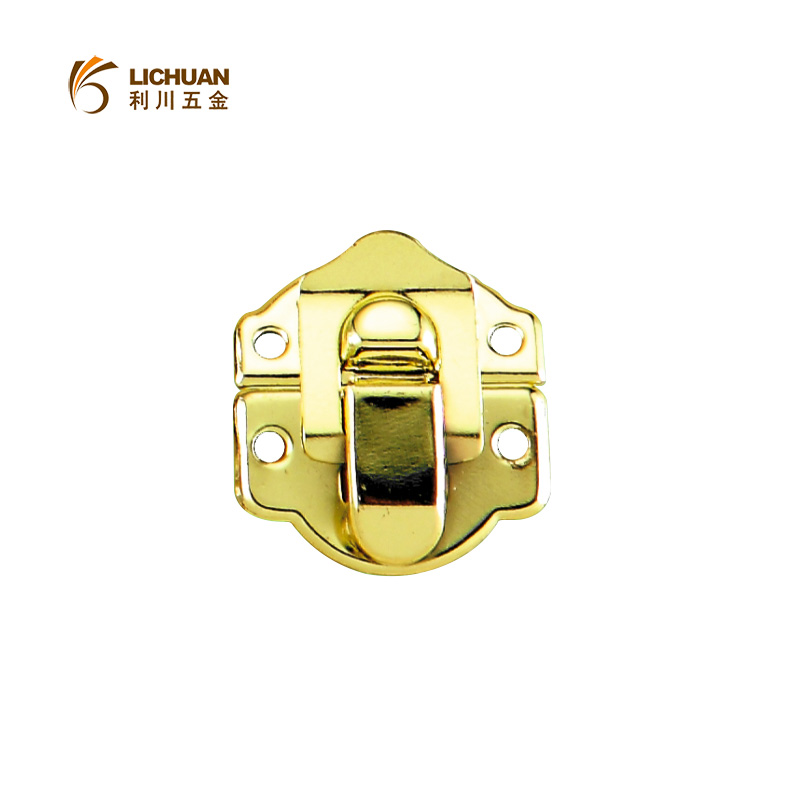 Flight case accessories gold luggage backpack lock