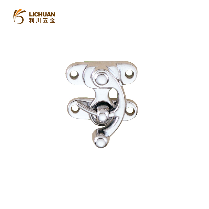 Metal lock catch curved buckle horn lock LC-S58